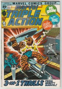 Marvel Triple Action #1 (Feb-72) VF/NM High-Grade Fantastic Four