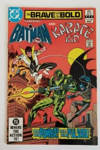 DC Comics The Brave and the Bold  #198 (1983), Batman and Karate Kid VF/NM 9.0
