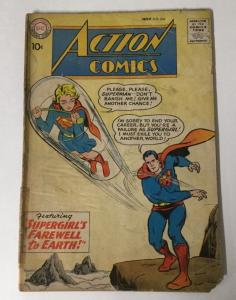 Action Comics 258 Gd Good 2.0 Cover Detached DC Comics SA
