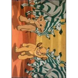 1994 Skybox The Lion King A SPECTACULAR ZEBRA SALUTE #12