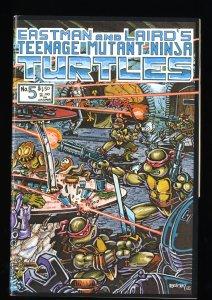 Teenage Mutant Ninja Turtles #5 FN/VF 7.0 1st Print!
