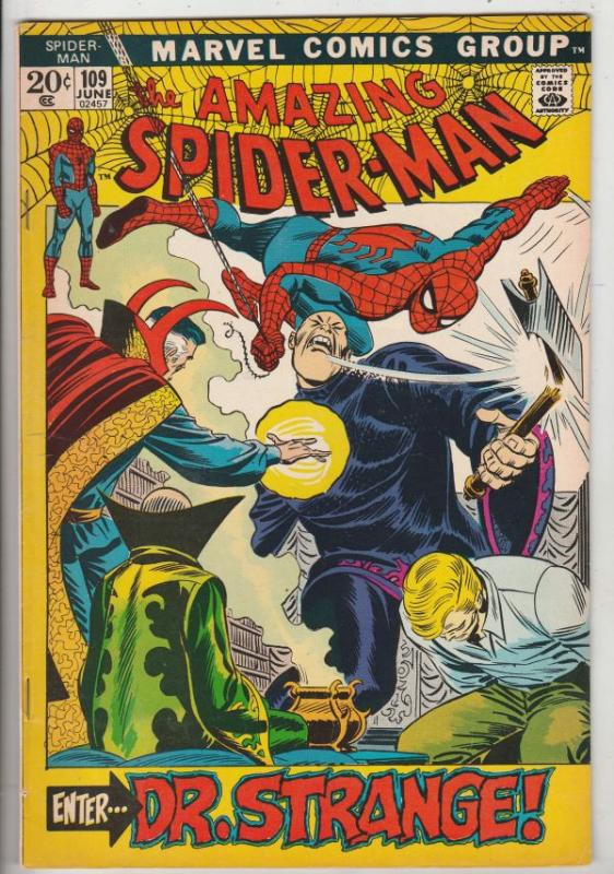 Amazing Spider-Man #109 (May-72) VF+ High-Grade Spider-Man