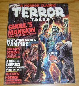 Terror Tales vol. 8 #2 FN july 1977 frankenstein cover - invitation from vampire