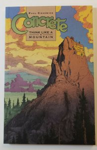 CONCRETE: THINK LIKE A MOUNTAIN TPB SOFT COVER FIRST PRINT NM DARK HORSE