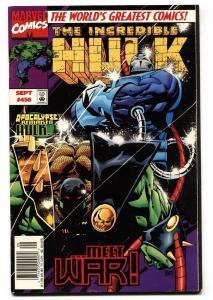 Incredible Hulk #456 1st appearance of the Hulk as War, a Horseman of Apocalypse