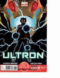 Lot Of 2 Marvel Comic Books Ultron #1 and Secret Avengers #1  MS20