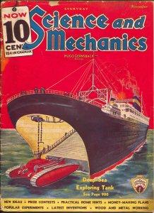 Everyday Science and Mechanics 11/1935-Frank R Paul-Hugo Gernsback-VG