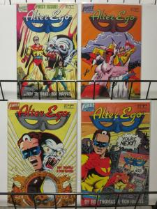 ALTER EGO  (1986 FIRST) 1-4 Roy Thomas LOVES comics