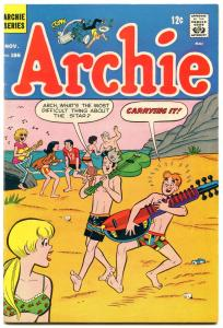 Archie Comics #186 1968- Silver Age-Betty & Veronica- f/vf