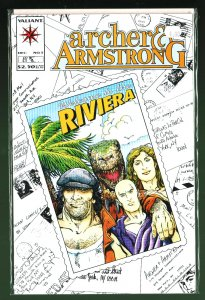 Archer & Armstrong #5 (1992)