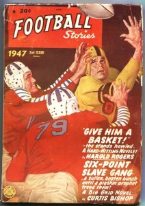 FOOTBALL STORIES- FALL 1947-GEORGE GIPP-NOTRE DAME-FIRST BOWL GAME