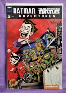Batman Teenage Mutant Ninja Turtles Adventures #2 DF RE Cover (IDW, 2016)!