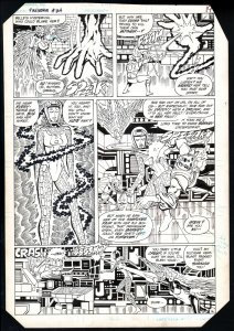 Firestorm #24 Page 16 Original Comic Book Art- RAFAEL KAYANAN