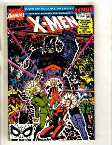 2 X-Men Marvel Comics Uncanny Annual # 14 NM Heroes Hope Signed Arthur Adams RM4
