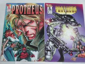 PROTHEUS (1996 CL) 1-2 MIKE DEODATO;  2 ISSUE RUN -