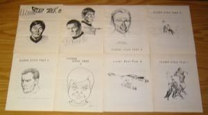 Inside Star Trek #1-12 FN/VF/NM complete set - 1968 fanzine - ruth berman