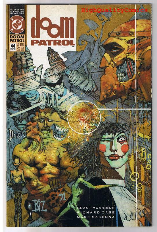 DOOM PATROL #44, NM, Grant Morrison, Simon Bisley, 1987, more in store