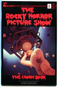 ROCKY HORROR PICTURE SHOW comics #2, VF+, Tim Curry, Meatloaf, RHPS, 1990