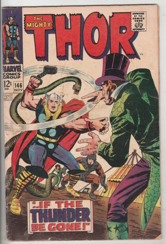 Thor, the Mighty #146 (Nov-67) VG- Affordable-Grade Thor