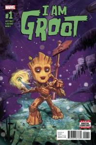 I Am Groot #1, NM (Stock photo)