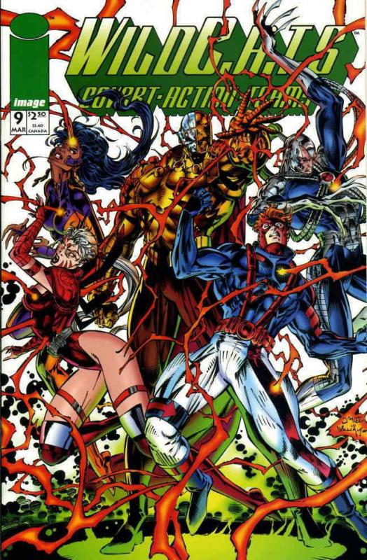 WildC.A.T.s #9 VF; Image | save on shipping - details inside