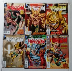 Savage Hawkman Comic Book Lot of (6) DC Comics CL70/04