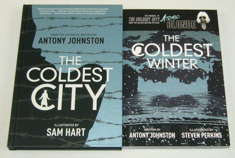 the Coldest City HC + the Coldest Winter SC VF/NM atomic blonde antony johnston