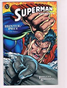 Superman Doomsday Hunter/Prey # 3 NM TPB DC Comic Books Batman Wonder Woman S83