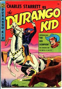Durango Kid #23 1953-ME-Frank Frazetta-1st Red Scorpion-FN/VF