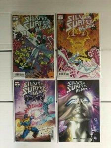 Silver Surfer Black 3 & 4 w/ Variants 4 Book Lot Black Winter Cameo Donny Cates