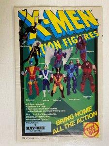 X-Men Action Figures #1 Toy Biz H20 Damage 8.0 VF (1991)