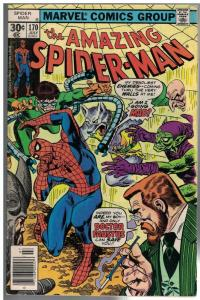 SPIDERMAN 170 VG  July 1977