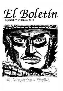 El Boletin Especial numero 079: Los Tebeos de El Coyote volumen 1