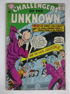 CHALLENGERS OF THE UNKNOWN #39 (DC,9/1964) GOOD (G) Challenger Kids!
