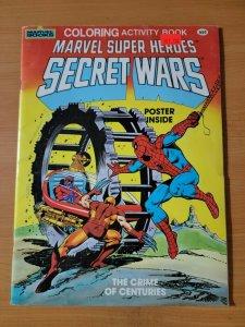 Marvel Super Heroes Secret Wars Coloring Activity + Poster ~ Crime of Centuries