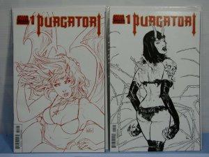 Purgatori #1 (Chaos! Dynamite Comics, 2014) 1st Printing Lot 2 Variants STRAHM