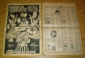 American Comic Book Company's Book & Magazine List - 1979 VG rich larson cover