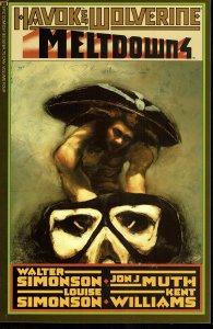 Havok & Wolverine #4 - 9.2 or Better - Marvel 1989