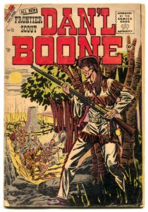 Frontier Scout Dan'l Boone #10 1956- 1st issue VG-
