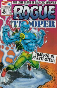 Rogue Trooper (1st Series) #45 VF; Fleetway Quality | save on shipping - details