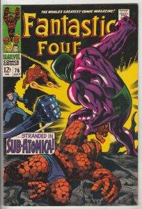 Fantastic Four #76 (Jul-68) VF/NM High-Grade Fantastic Four, Mr. Fantastic (R...