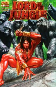 Lord of the Jungle #1A VF/NM; Dynamite | save on shipping - details inside