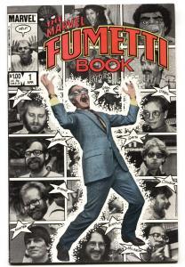 MARVEL FUMETTI BOOK #1 STAN LEE COVER-comic book VF+