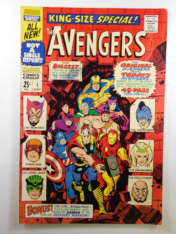 The Avengers Annual #1 (1967) FN-