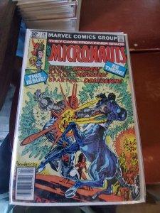 Micronauts #28 (1981)