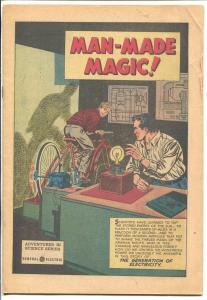 Man-Made Magic 1953-Picture Media-electricity info-16 pages-VG