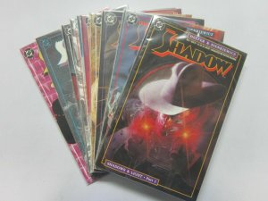 Shadow (2nd Series DC) #1-11 Run + Annual - 8.0 VF - 1987