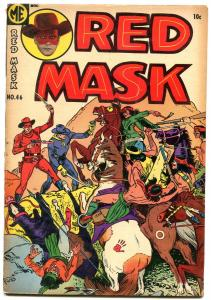 RED MASK #46 1955- Ghost Rider- Golden Age Western G