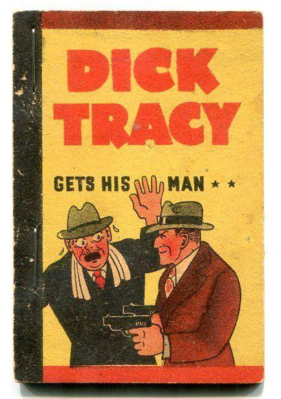 Dick Tracy Gets His Man Penny Book 1938- Chester Gould