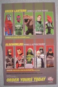 GREEN LANTERN  ELSEWORLDS Promo Poster, 2006, Unused, more in our store